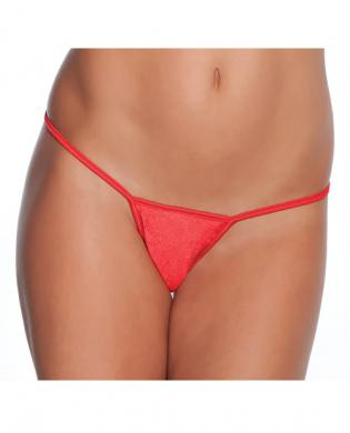 G-String Panty Red XL