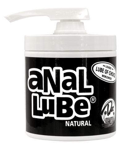Anal Lube Natural 4.5 Oz Pump