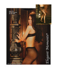 Sheer crotchless pantyhose black o/s Sex Toy Product