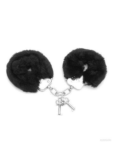Love Cuffs Plush Black