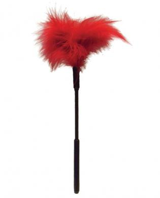 Feather Ticklers 7 inches Red