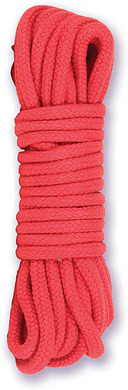 Japanese Bondage Rope Red Sex Toy Product