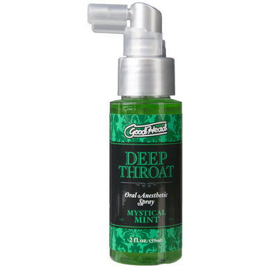 Goodhead Deep Throat Spray Mystical Mint 2oz Sex Toy Product