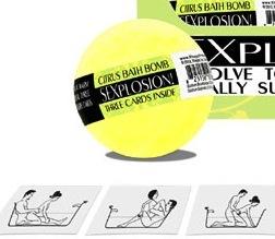 Sexplosion Bath Bombs-1pc