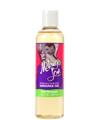 Making Love Massage Oil - Kiwi/Pineapple Sex Toy Product