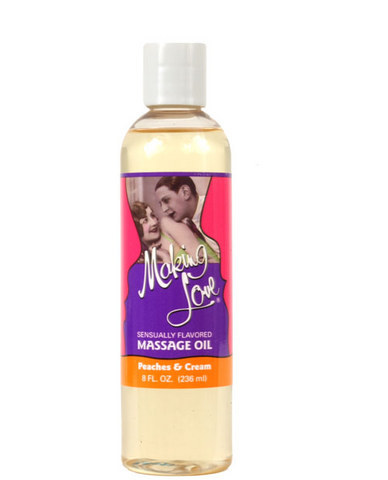 Making Love Massage Oil - Peaches n Cream Sex Toy Product