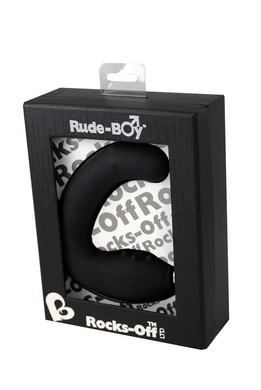 Rude Boy Vibrator Waterproof Black