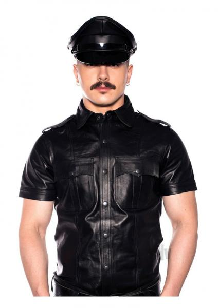 Prowler Red Police Shirt Blk Md