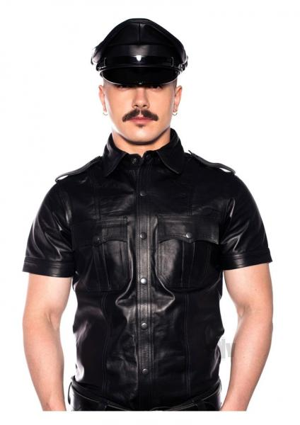 Prowler Red Police Shirt Blk Sm