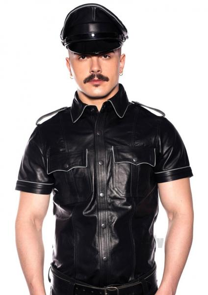 Prowler Red Police Shirt Pipe Blk/gryxxl