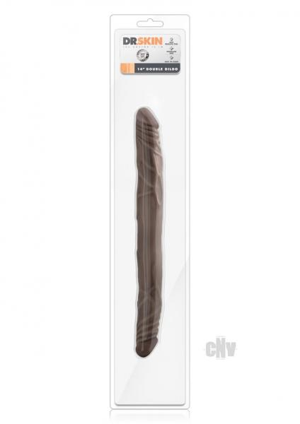 Dr Skin Double Dildo 14 Chocolate