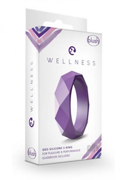 Wellness Geo C Ring Purple