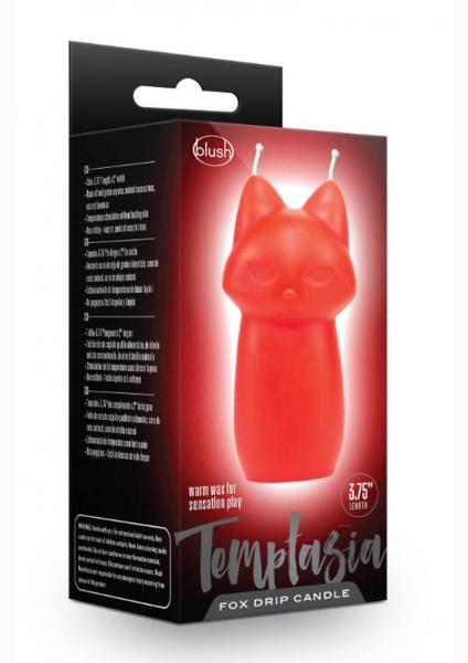 Temptasia Fox Drip Candle Red