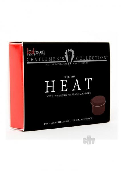 Brp Heat Massage Candle 2pk