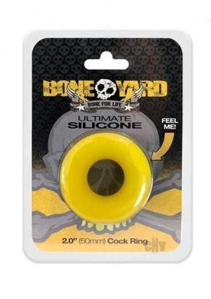 Boneyard Ultimate Silicone Ring Yellow