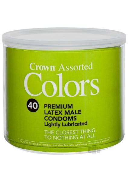 *special*crown Asst Colors 40/bowl