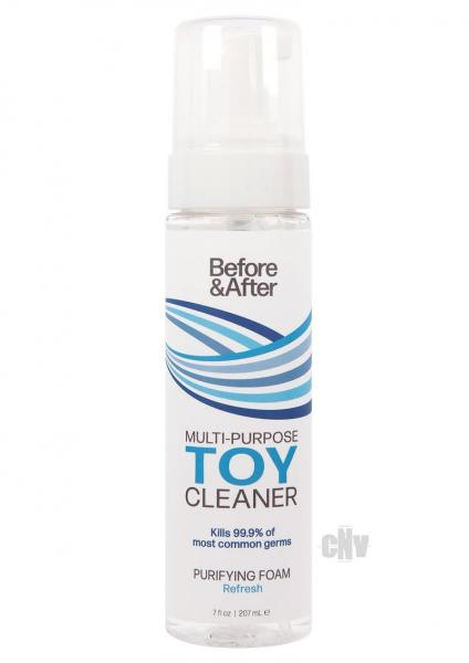 Before And After Foam Toy Cleaner 7oz