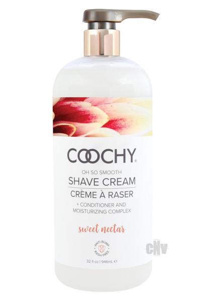 Coochy Shave Cream Sweet Nectar 32 fluid ounces