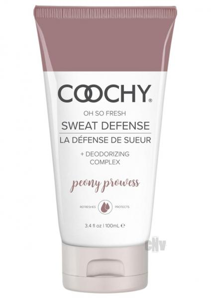 Coochy Sweat Defense Lotion Peony Prowess 3.4 fluid ounces