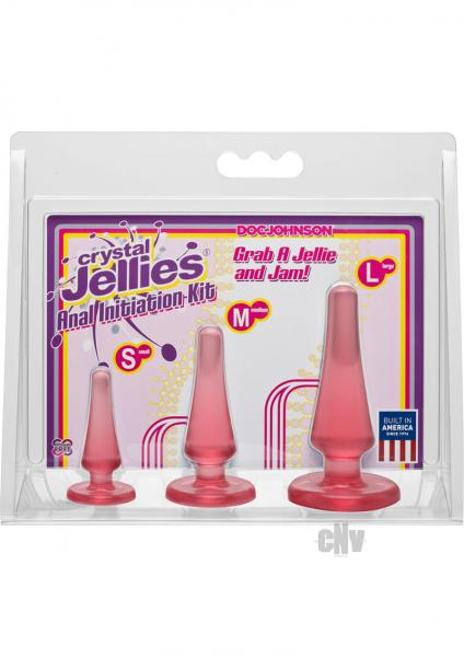 Crystal Jellies Anal Trainer Kit Pink