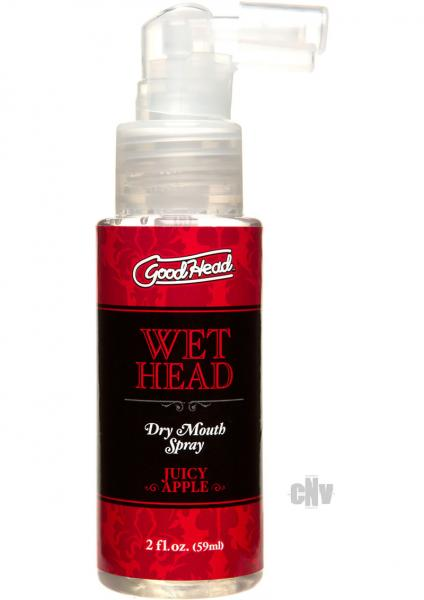 Goodhead Wet Head Dry Mouth Spray Apple 2oz
