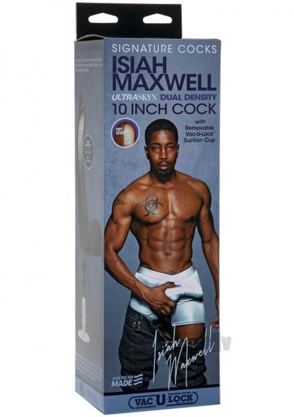 Signature Cocks Isiah Maxwell 10 inches Ultraskyn Cock