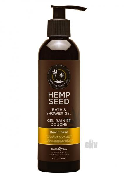 Hemp Seed Shower Gel Beach Daze 8oz