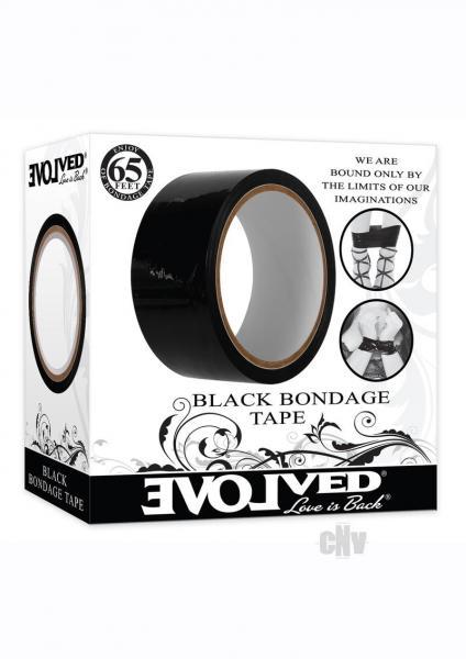 Bondage Tape 65` Black