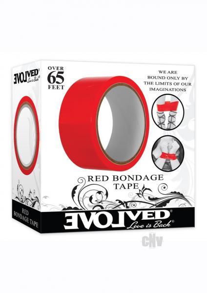 Bondage Tape 65` Red