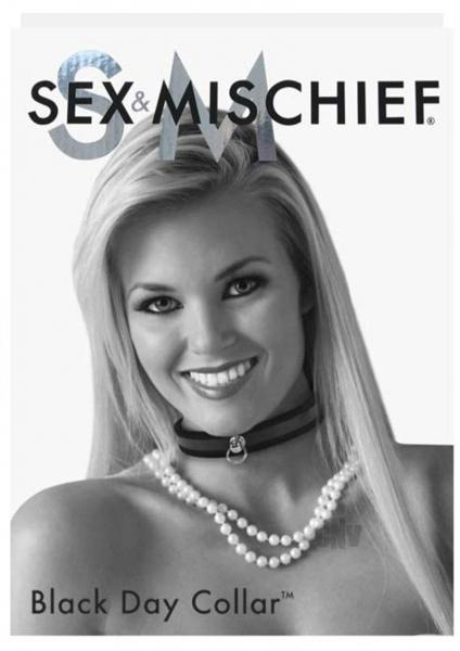 Sex and Mishcief Black Day Collar