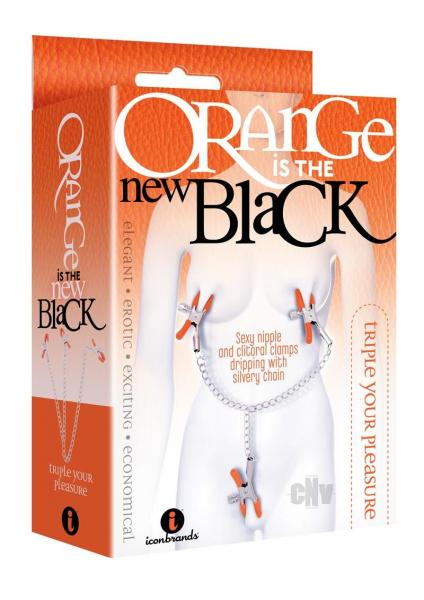 Oitnb Triple Your Pleasure Clamps/chain