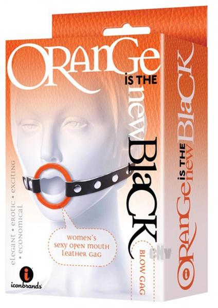 Oitnb Blow Gag Open Mouth Leather