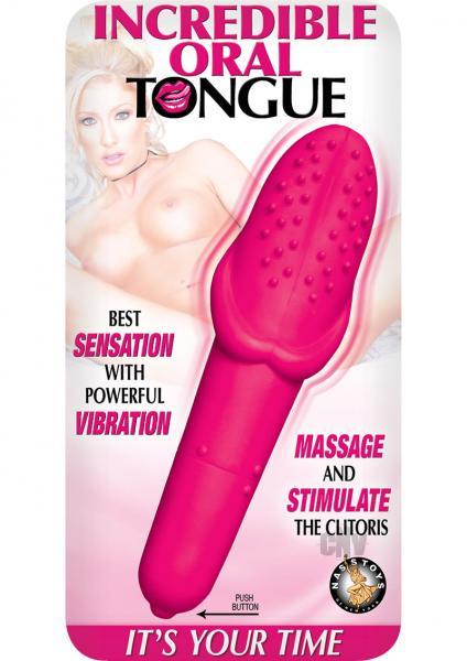 Incredible Oral Tongue Vibrator Pink