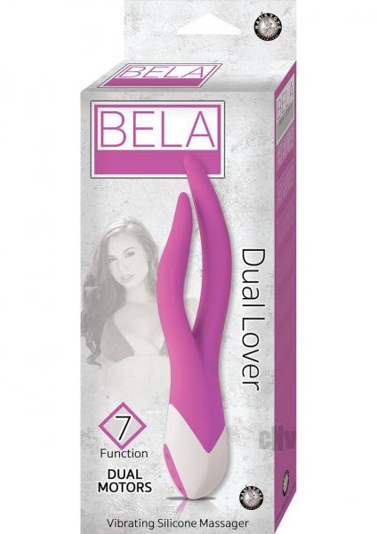 Bela Dual Lover Purple Vibrator