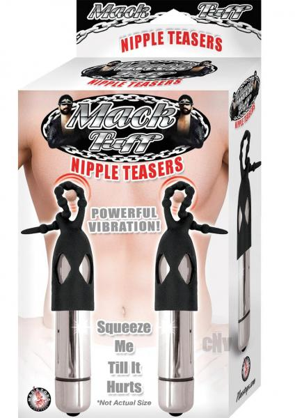 Mack Tuff Nipple Teasers Silver Black