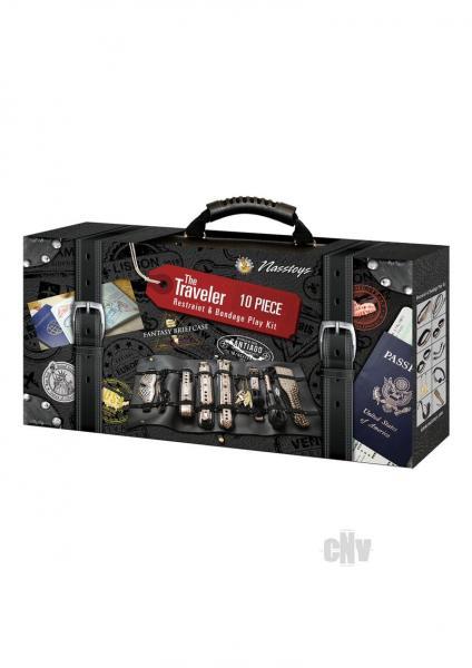 The Traveler Play Kit Gold/black