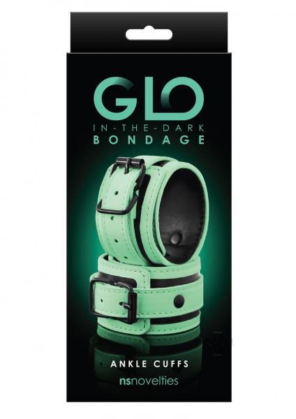 Glo Bondage Ankle Cuff Green