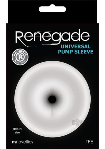 Renegade Universal Pump Ass Sleeve Clear