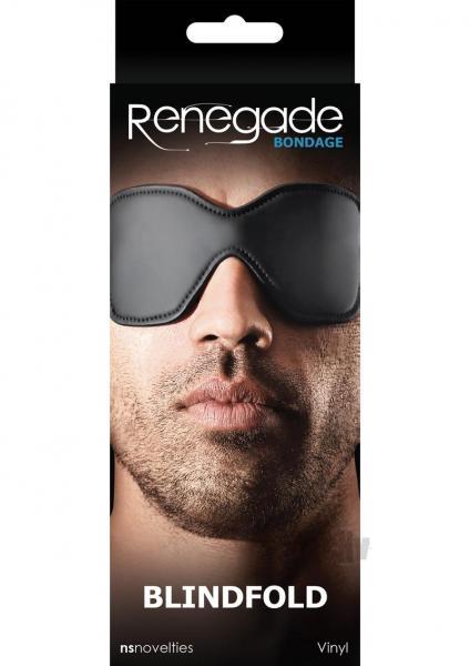 Renegade Bondage Blindfold Black O/S
