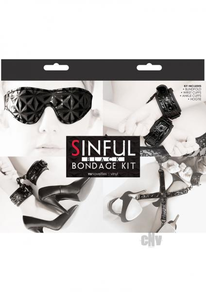 Sinful Bondage Kit Black