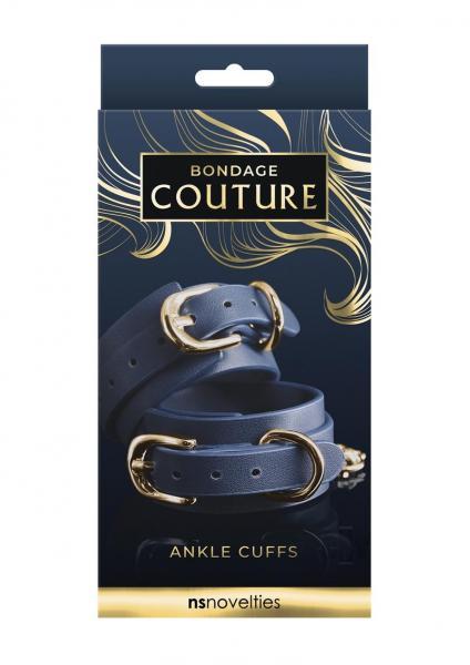 Bondage Couture Ankle Cuff Blue