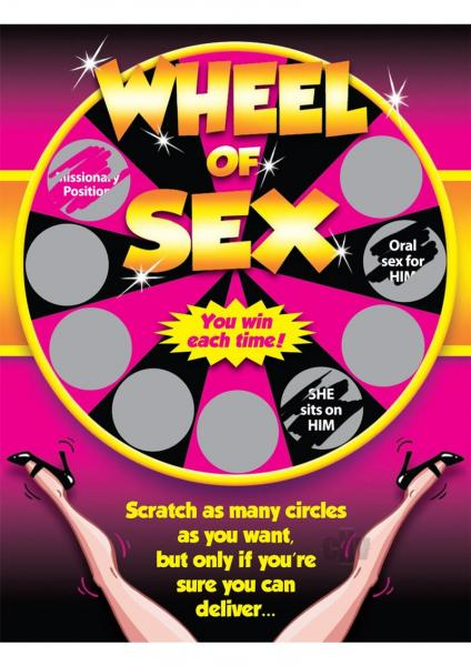 Wheel Of Sex Scratchers