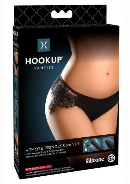 Hookup Panties Remote Princess Os Blk