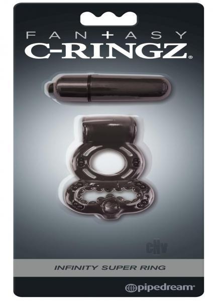 Fantasy C Ringz Infinity Super Ring Blk