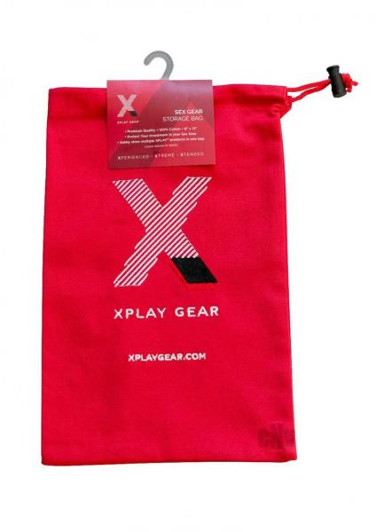 Ultra Soft Gear Bag 8x13 1pk Red