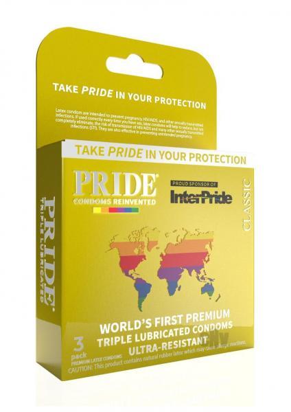 Pride Classic Latex Condoms Pack Of 3