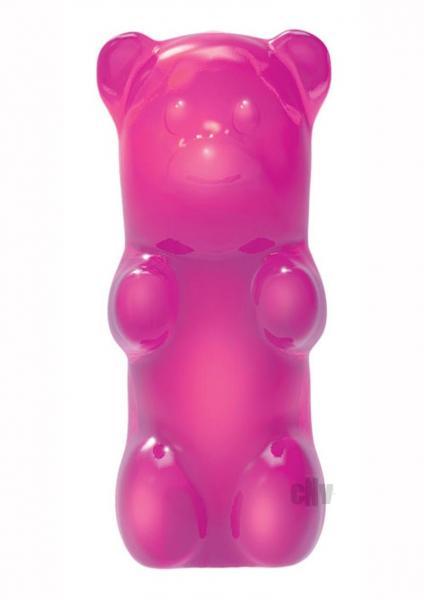 Rock Candy Mini Gummy Bear Vibe Pink
