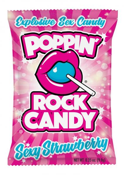 Popping Rock Candy Strawberry(loose)