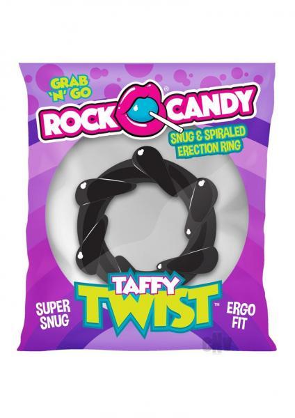 Rock Candy Taffy Twist Black