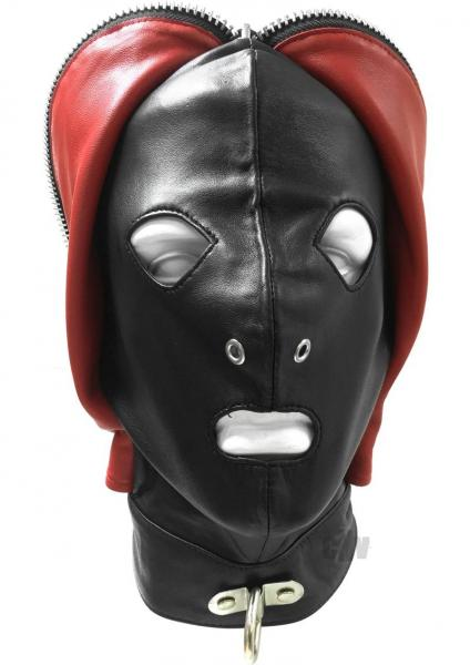 Rouge Fly Trap Mask Black Red O/S